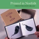 Printed in Norfolk, Coracle Publications 1989-2012, exhibition catalogue cover
