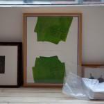 Framed works.