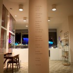 Poem by Emily Dickinson, installed as part of the exhibition.