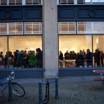 A packed house for the opening at The Gallery at NUCA in Norwich.